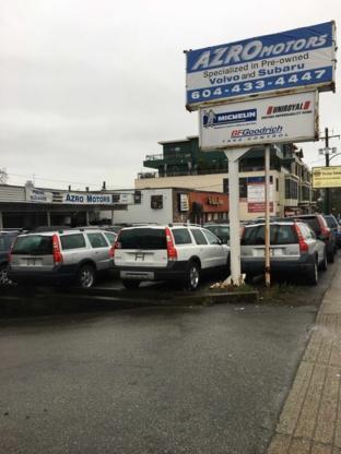 Azro Tireland - Tire Retailers - 604-433-4486