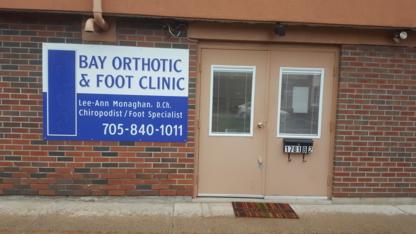 Bay Orthotic & Foot Clinic - Orthopedic Appliances - 705-840-1011