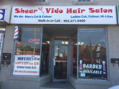 Shear & Vido - Salons de coiffure et de beauté - 905-271-9400