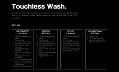 Timberlea car Wash - Car Detailing - 780-750-9994