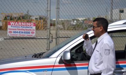 Vancouver Patrolling - Patrol & Security Guard Service