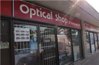 Optical Shop Of Richmond Hill Inc - Opticians