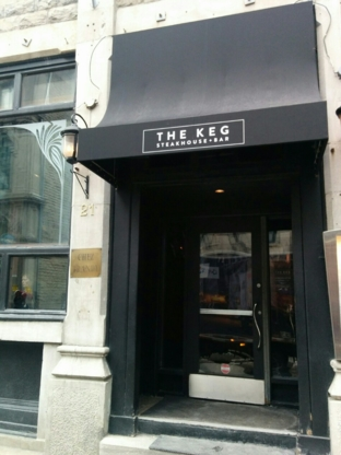 The Keg Steakhouse & Bar - Steakhouses - 514-871-9093