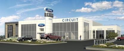 Le Circuit Ford Lincoln Ltee - Concessionnaires d'autos neuves - 514-325-4700
