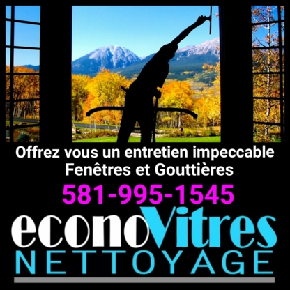 EconoVitres Nettoyage - Window Cleaning Service - 581-995-1545