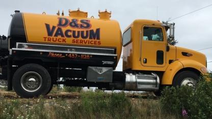 D & S Vacuum Truck Services - Septic Tank Installation & Repair