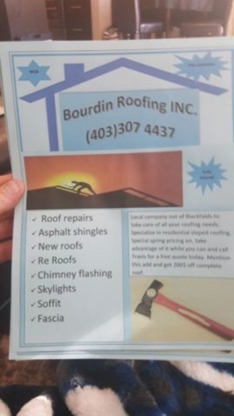 Bourdin Roofing Inc - Couvreurs