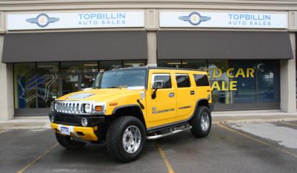 Topbillin Auto Sales - Auto Part Manufacturers & Wholesalers - 905-660-8848