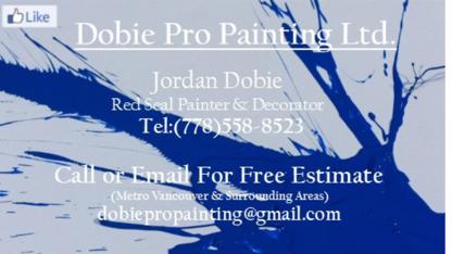 Dobie Pro Painting - Painters - 778-558-8523