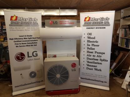 Martin's Home Heating Ltd - Plombiers et entrepreneurs en plomberie - 506-363-5297