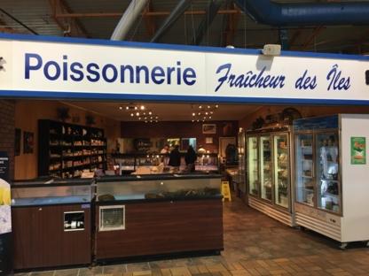 Poissonnerie Fraîcheur des Iles - Poissonneries - 450-672-3474