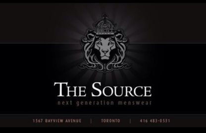 The Source Menswear - Men's Clothing Stores - 416-483-0531