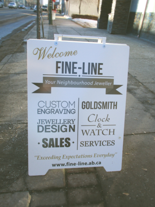 View Fine-Line Jewellers & Engravers's St Albert profile
