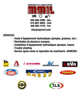Voir le profil de Équipements & Lubrification M.M.I.L Inc. - Saint-Roch-de-l'Achigan