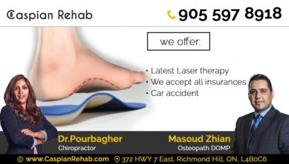 Caspian Rehab - Chiropractors DC - 905-597-8918