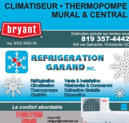 Réfrigération Garand Inc - Refrigeration Contractors - 819-357-4442