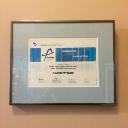 View Clinique Psy Santé's Hudson profile