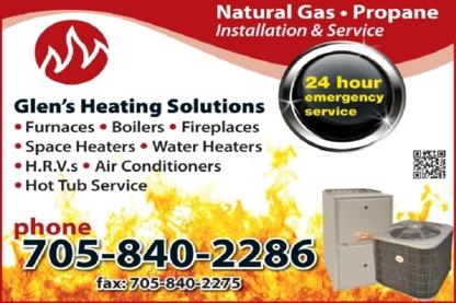 Glen's Heating Solutions - Heating Contractors