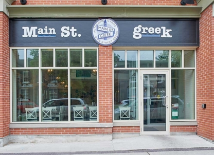 View Main Street Greek's Markham profile