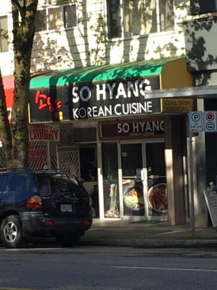 So Hyang Korean Cuisine - Restaurants - 604-729-0702
