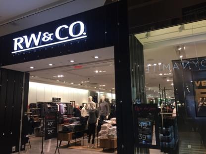 RW & CO. - Clothing Stores - 514-694-5888