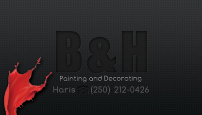 B&H Painting - Painters - 250-212-0426