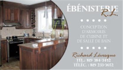 Ebénisterie R L - Ébénistes - 819-384-3452