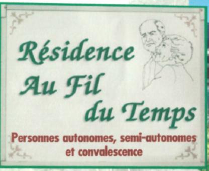 Résidence au Fil du Temps - Résidences pour personnes âgées