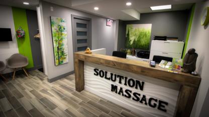 Solution Massage - Massage Therapists - 819-243-8696