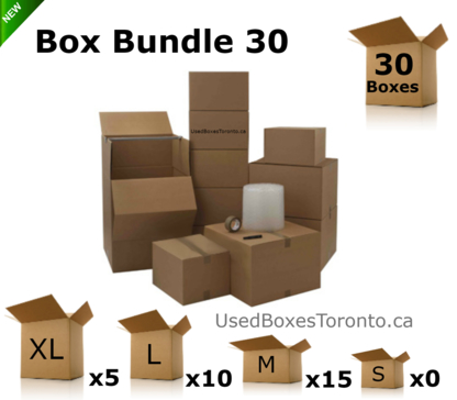 Used Boxes Toronto - Moving Equipment & Supplies - 647-258-5652