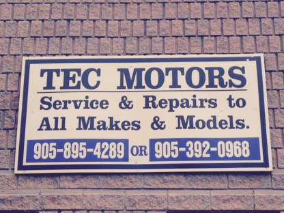 Tec Motors - Car Repair & Service - 905-895-4289