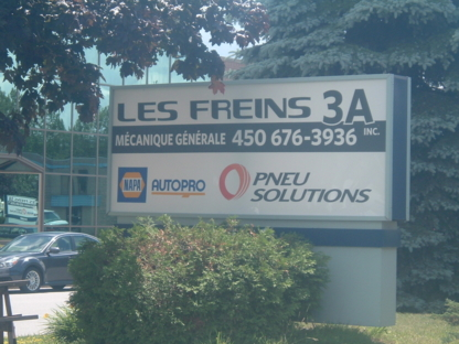 Les Freins 3A Inc - Car Repair & Service