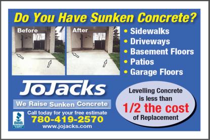 JoJacks Concrete Levelling - Concrete Repair, Sealing & Restoration