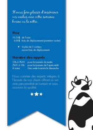 SEIB Insemination bovins - Élevage de bétail - 450-548-7071