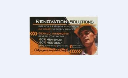 Renovation Solutions - Home Improvements & Renovations