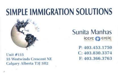 Simple Immigration Solutions - Fournisseurs de solutions de commerce électronique