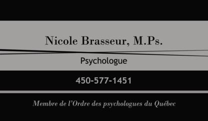 Voir le profil de Nicole Brasseur - Psychologue - Granby