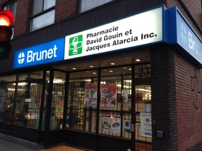 Pharamcy D Gouin & J Alarcia Affiliated To Brune t - Pharmaciens - 514-933-6758