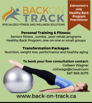 Back on Track Specialized Fitness / Wellness Solutions - Programmes de conditionnement physique et d'entrainement