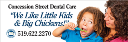 Concession Street Dental Care - Dentists - 519-622-2270