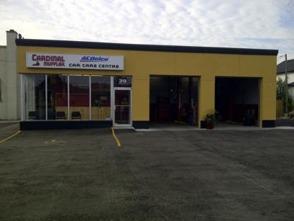 Cardinal Muffler Car Care Centre - Auto Repair Garages