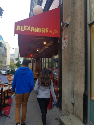 Alexandre et fils - French Restaurants - 514-288-5105