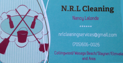 N R L Cleaning - Commercial, Industrial & Residential Cleaning - 705-606-0026