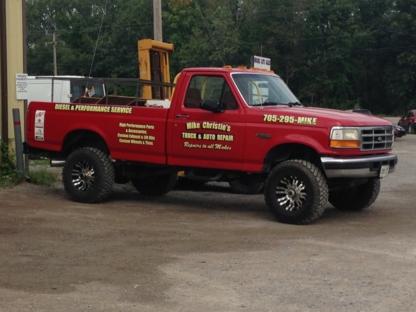 Mike Christie's Diesel & Performance - Car Repair & Service - 705-740-9388