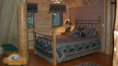 Maurer Log and Timber Frame Homes - Log Cabins & Homes