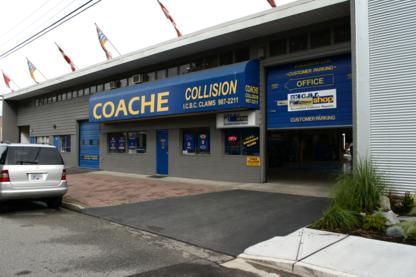 Coache Collision Ltd - Finition spéciale et accessoires d'autos