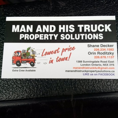Man And His Truck Property Solutions - Truck Repair & Service