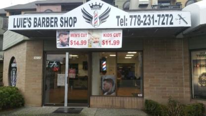 Luie's Barber Shop - Barbers - 778-231-7272
