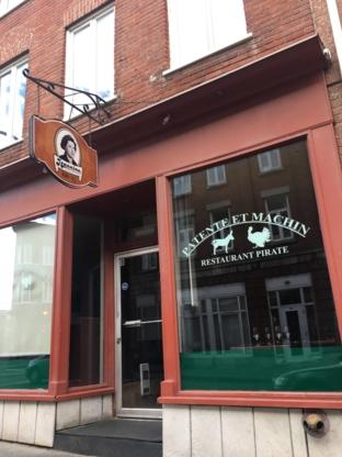 Patente Et Machin Inc - Restaurants