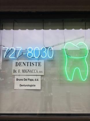 Dr Franco Mignacca - Dentistes - 514-727-8030